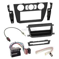 BMW 3er E91 05-12 2-DIN Autoradio Einbauset Adapter Kabel Radioblende