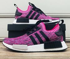 Adidas NMD_R1 W PK BB2363 Size 10 Women's Running Shoes Shock Pink/black Camo