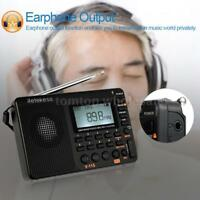 Retekess Digital Portable LCD Receiver TF MP3 Player AM FM SW Full Band Radio
