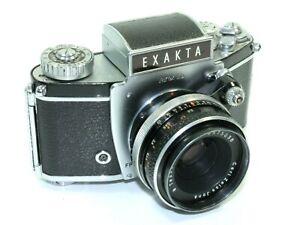 Ihagee Exakta Varex IIb 35mm SLR Camera with Carl Zeiss Tessar f2.8 50mm Lens.