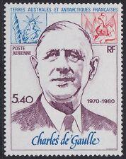 TAAF PA N°61** Général de Gaulle, 1980 FSAT MNH