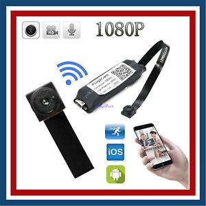 Sans Fil Wifi 1080P Espion Caméra Mini Cam Vidéo DVR Cachée Micro Surveillance
