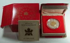2001 Canada $15 Lunar Series Proof Silver Coin in Mint Box w/ COA