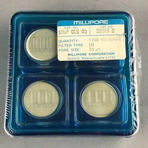 Millipore SMWP02500 Membrane Filter, 5 µm Pore Size - NEW SEALED -