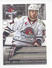 2013-14 Rockford IceHogs (AHL) Brandon Pirri (Chicago Wolves)