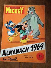 almanach 1969 journal de mickey walt disney pages manquantes