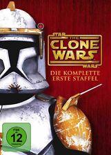 Star Wars - The Clone Wars Staffel 1 NEU OVP 4 DVDs