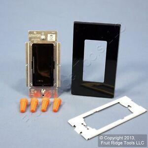Black Vizia Light Dimmer Switch Control 1000VA Magnetic Low Voltage VZM10-1LE