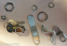 Replacement File or Tool Cabinet Lock with Three Interchangeable Locking Arms