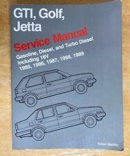 GTI Golf Jetta Service Manual 1985 1986 1987 1988 1989 Gas Diesel Turbo