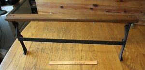 Antique Cast Iron Butcher Paper Dispenser ACE #24 General Store Mercantile 28.5""
