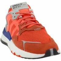 adidas Nite Jogger Mens  Sneakers Shoes Casual   - Orange - Size 11 D