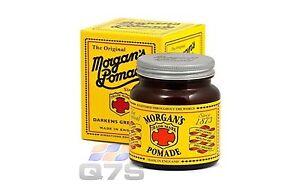 Morgan's Mens Hair Dye Pomade 100 grams- The Original ! Morgans Pomade