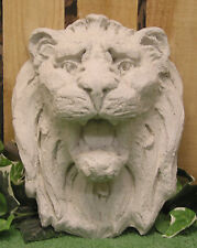 Lion Head Wall Fountain Plaque Latex Fiberglass Production Mold Concrete Plaster