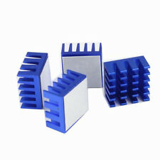 5pcs Blue 15x15x8mm Aluminum Xbox 360 Computer RAM Memory Heatsink DDR DDR2/3