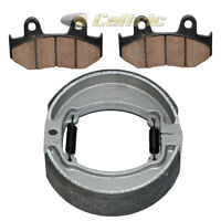 Front Brake Pads & Rear Brake Shoes for Honda CR125R CR250R CR500R 1986