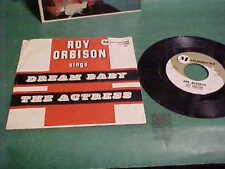1962 ROY ORBISON MONUMENT 45-456 45 RPM & PICTURE SLEEVE DREAM BABY VINYL RECORD