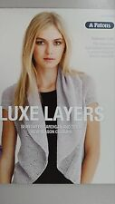 PATONS LUXE LAYERS - EMBRACE MERINO 2 PLY PATTERN LEAFLET #0006