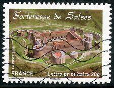 TIMBRE FRANCE AUTOADHESIF OBLITERE N° 721 / FORTERESSE DE SALSES