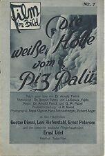 Film im Bild 07 : Die weiße Hölle am Piz Palü, Leni Riefenstahl, Ernst Udet,
