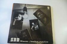 SBB LP MEMENTO Z BANALNYM TRYPTYKIEM. MUZA SX 1966 POLAND PRESS .