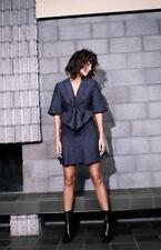 New LIFE WITH BIRD X LINDY KLIM The Sands Teal Berry Jacquard Dress 1/AU8 $650