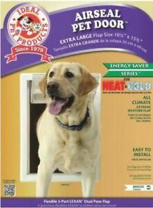 Ideal Pet Products Air Seal Plastic Pet Door with Telescoping Frame X-Large