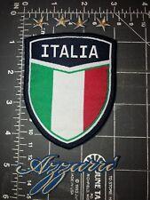 Italia Soccer Football Shield Crest Flag Patch National Team Italy Azzurri Figc