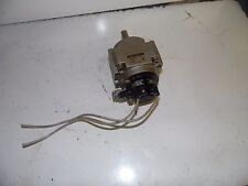 SMC Pneumatic Rotary Actuator, CDRB1BW50-100DE-T79L, 1.0 MPa, Used, Warranty