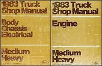 1983 Ford Truck Shop Manual F600 F700 F800 F7000 F8000 C600-C8000 Repair Service