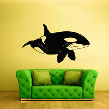 Wall Decal Sticker Sea Ocean Orca Dolphin Fish Whale Animals Decal (Z1708)