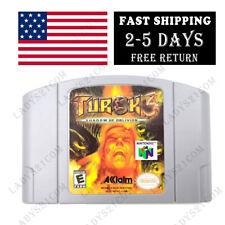 Turok 3: Shadow of Oblivion (Nintendo 64, N64 2000) N64 game cartridge only