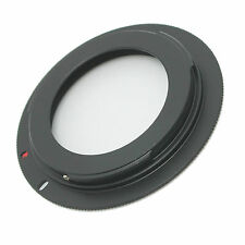 10pcs M42 Lens to Canon EOS Adapter Ring 4 Rebel XSi T1i T2i WITH PLATE