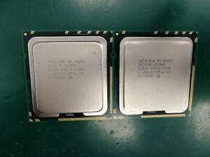MATCHED PAIR Intel Xeon Processor CPU SLBV5 X5687 12M 3.33 GHz 6C 6.4GT/s 130w