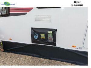 Kampa Dometic Caravan Double Wheel Arch Cover & Storage- Black - Limpet Suction