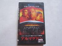 ARMAGEDDON Bruce Willis Michael Bay japanese movie VHS japan