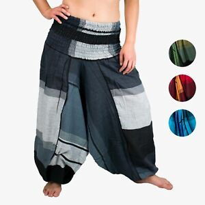 Haremshose Goa Hose Ballonhose Aladin-Hose Pumphose Yoga  Damen Herren Spirale