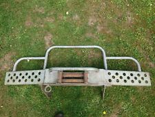 Land Rover Defender Winch Bumper Heavy Duty, off road recovery / steering guard