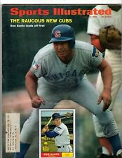 Ron Santo Chicago Cubs 1969 Sports Illustrated & Trading Card FREE Shipping