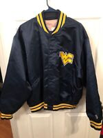 RARE Vintage 70's Feko West Virginia Satin Jacket Union Made Adult XXL