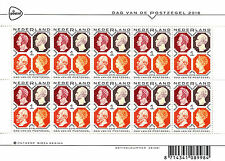 Netherlands 2016 MNH Day of the Stamp 10v M/S Stamps
