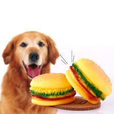 Funny Pet Puppy Chew Squeaker Squeaky Plüsch Ton Hamburg für Hund Lieblings Spielzeug