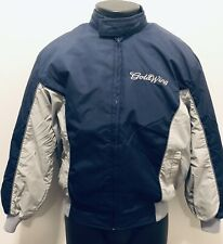 Goldwing Vintage 70's-80's Crown Of California XXL Lined Nylon Jacket Navy Gray
