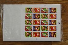 usps CHRISTMAS MUSIC sheet of 20 37 cent stamps.