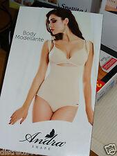 body modellente ANDRA LINGERIE modellante, pancia piatta a vita alta Tg 4/L NERO