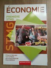 Economie Première STMG Bertrand Lacoste
