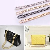 Flat Metal Replacement Chain for Shoulder Bag Handbag Strap Cross Body ILU