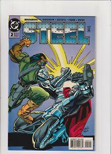 Steel #2 NM- 9.2 DC Comics 1994 Superman, John Henry