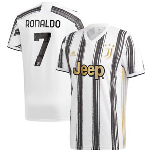 Juventus adidas Football Shirt Kid's Home Shirt - Cristiano Ronaldo 7 - New