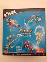 K'NEX 1998 First Building Set 20 Models 31005 COMPLETE (A2)